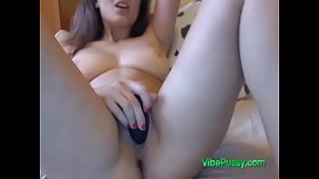 milfs lezdom blonde play huge toy titted He watches me rub myself
