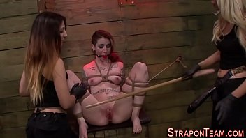 dominated tied outdoors slave 10 age old