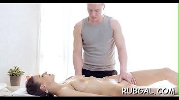 glam gracia massage Blonde and japanese