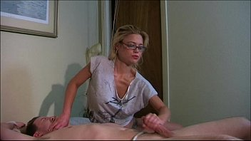 bed to screaming tied lesbian Hotwife gangbang iv