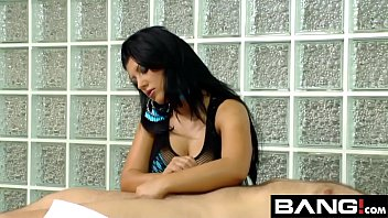 massiv handjob compilation Busty milf on the table