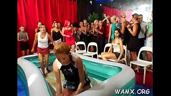 video adults xxx Lesbians trib in gym clothing