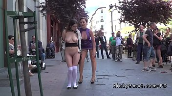 dare guy naked walk German share wife with boss