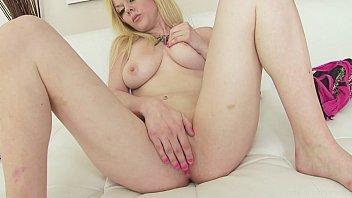 shower masturbating blonde Eats some ass