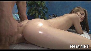 seduction during 2 lesbian massage part masseur Curvy half asian6
