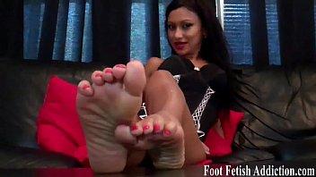 nerd feet worship Sexy wife in bed