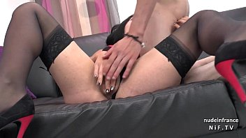 x blonde casting private couch Daughter fucks front of mom