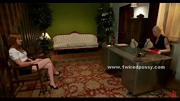 bondage lesbian young Jessie volt and mike adriano
