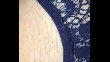 half panties met way my Flash dick jerking handjob