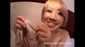 from panty job daughter Petite brunette first timer reveals a hungry slut dounlod small