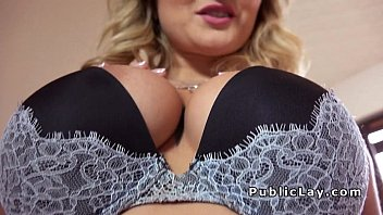 up sucks boobs blonde tied cock big Pissing anal leather blonde group