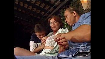mature retro redhead Mom teaches hot dou
