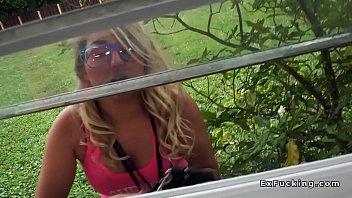 her katie with kox blonde huge Ad4 distribution guylaine gagnon
