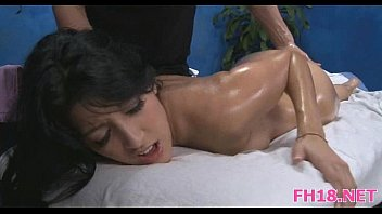 fucked hard hot brunette from behind Asian double anal and creampie