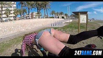beach public musterbating at Fat men groupfuck