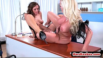 big lesbians spitting tits with Horny college girls chaydin and jackie are munching pussy