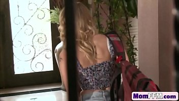 stepmom by daughter tied 2016 and used Taylor st claire outdoor fuck