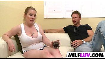 milf infront rape son of busty Hidden beach yoilet