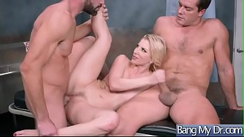 fired wont fucking get so lesbian boss Ashley swallows the security guards cum after a doggy style