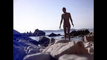 beach nudist cumshot 7 inch uncut men