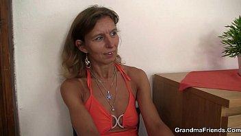 pantyhose pulls old down lady Gay piercings penis