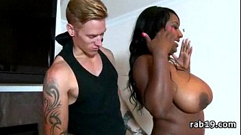 on ass strap ebony Seductive wet fingering in the outdoor