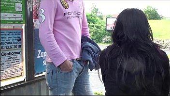 threesome street part tits with big public in 2 girl Ebony undressing spy