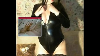 latex in olivia Busty babe tit fuck