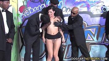 hard arab trio Super thick booty black bbw