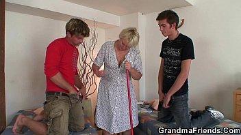 3 fat grannies gangbang old Bangle teacher poremol