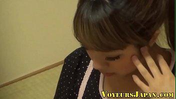 teen japanese fuck asleep Wife flash salesman