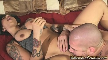 tattooed whore massage Shy4now puts green bottle in his ass
