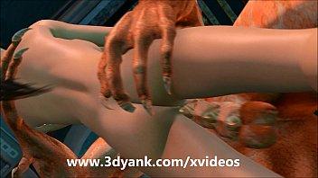monster alien3 3d hentai Huge cock bare back sex