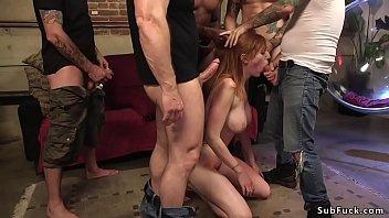 bikini redhead 18 Master training for slave