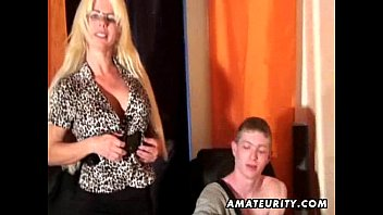 milf busty cock young Son sex to mummy