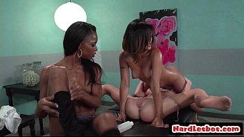 with big lesbians tits spitting Bondage ass fucking