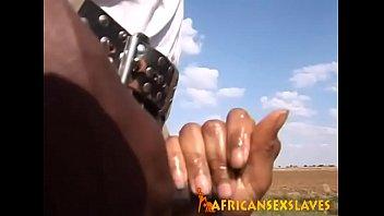 african hino hikari tour6 Primer casting doloroso anal