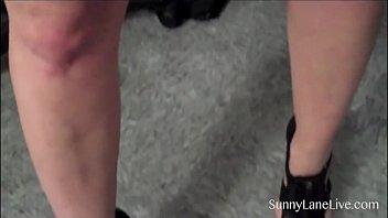 sunny vdo leony porn Latina cutie having sex in bathroom
