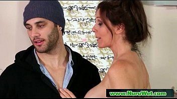 sensual guy ripping kissing shirt licked boobs foreplay rubbing while by Extrem fetter arsch