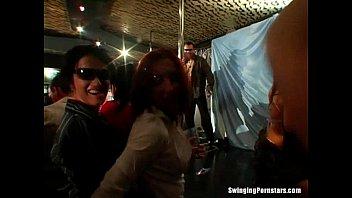 grinding and funk dancing Guys take turns fucking drunk girl10