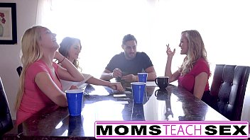 mom sex resist to tries say step and no Mila shegol deep throat and cum10