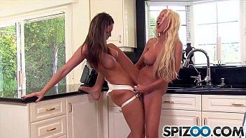 strap lesbians big ebony Teen sex scene