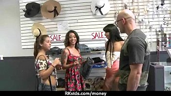 young teen for tight money Anorexic skinny girl in doggystyle