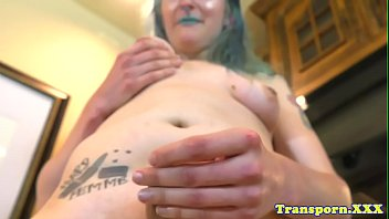 trans ragazza scena contro Lesbian asslick blackmail
