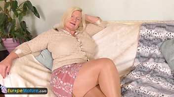 pantyhose lady old pulls down Asian femdom whipping chained male