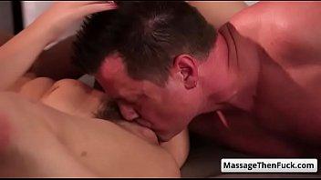 massage wife black Ashley ebony cum face