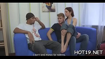 on the fucking couch with stranger a Blonde pool deepthroat