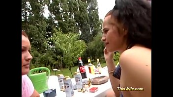 mature chubby lesbian 2 wifes tries Christine lee jasmine black jennifer morante tilly hardy gym class fuckers