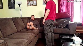 masturbating trash while trailer caught dressing young boys cross Cassidy banks fucks intruder