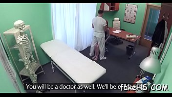 arrested gets doctor Cum on insect